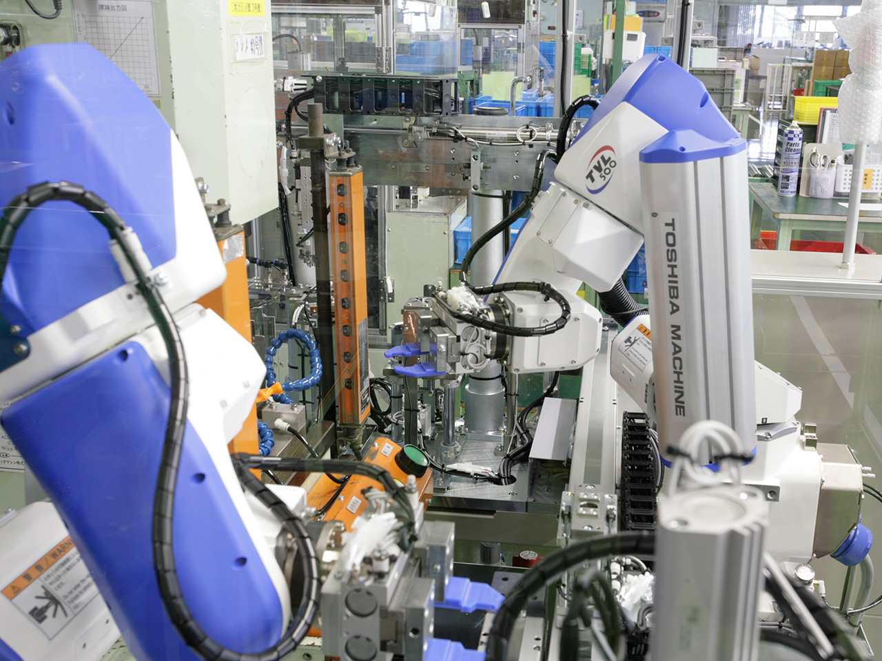 自動組立機(ロボット化)