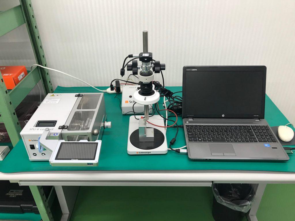 圧着断面検査装置(MGS6)